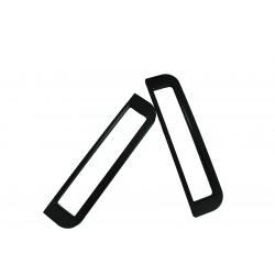 Couple of black milled 5U handles