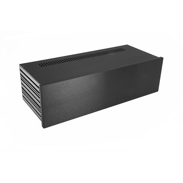 Slim Line 03/170 10mm BLACK front panel - 3mm aluminium covers