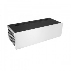 Slim Line 03/170 10mm SILVER front panel - 3mm aluminium covers