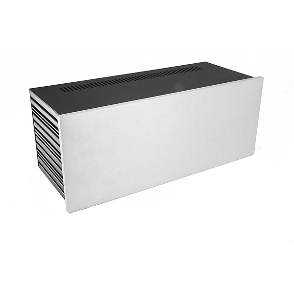 Slim Line 04/170 10mm SILVER front panel - 3mm aluminium covers