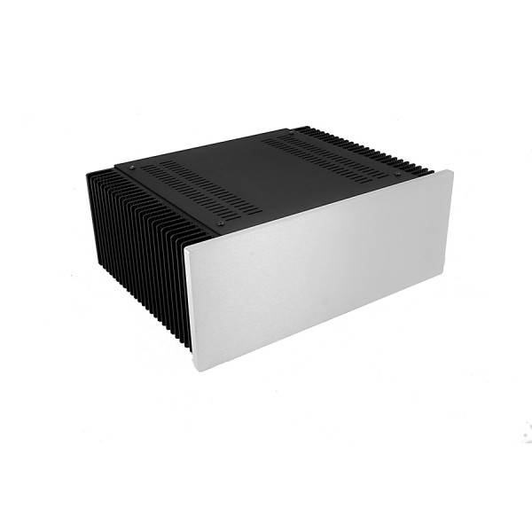 Mini Dissipante 3U 250mm 10mm SILVER front panel - 2mm aluminium covers and 3mm rear panel
