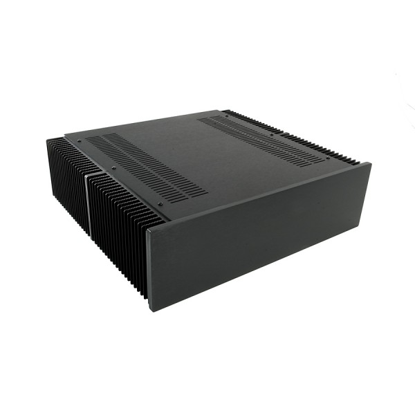 Dissipante 3U 400mm 10mm BLACK front panel - 3mm aluminium covers and rear panel