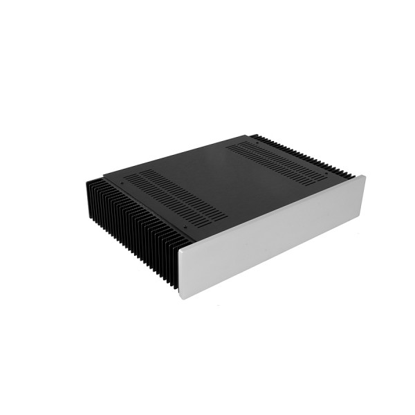 Dissipante 2U 300 10mm SILVER front panel - 3mm aluminium covers and rear panel