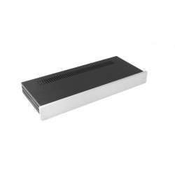 Slim Line 01/170 10mm SILVER front panel - 3mm aluminium covers