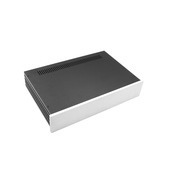 Slim Line 02/280 10mm SILVER front panel - 3mm aluminium covers