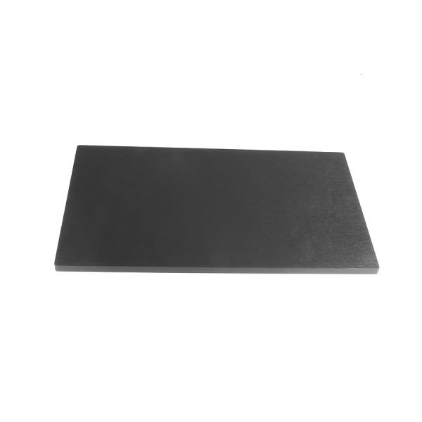 10mm alluminium frontal panel 4U BLACK