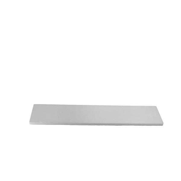 10mm alluminium frontal panel 2U SILVER
