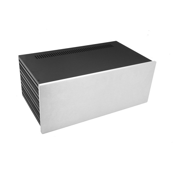 Slim Line 04/230 10mm SILVER front panel - 3mm aluminium covers