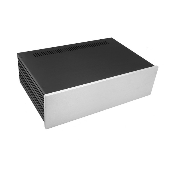 Slim Line 03/280 10mm SILVER front panel - 3mm aluminium covers