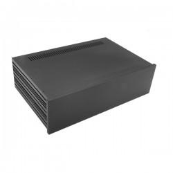 Slim Line 03/280 10mm BLACK front panel - 3mm aluminium covers