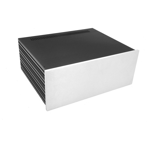 Slim Line 04/350 10mm SILVER front panel - 3mm aluminium covers