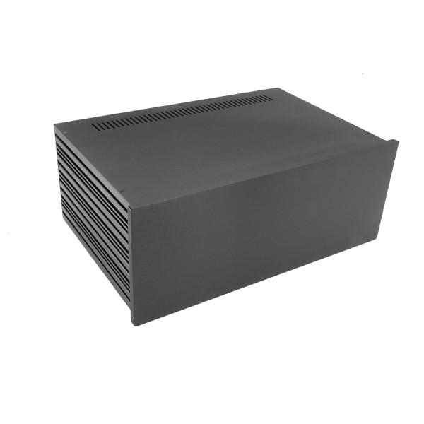 Slim Line 04/280 10mm BLACK front panel - 3mm aluminium covers