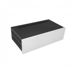 Slim Line 03/230 10mm SILVER front panel - 3mm aluminium covers