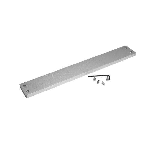 10mm frontal panel for GALAXY 343-347-348 SILVER