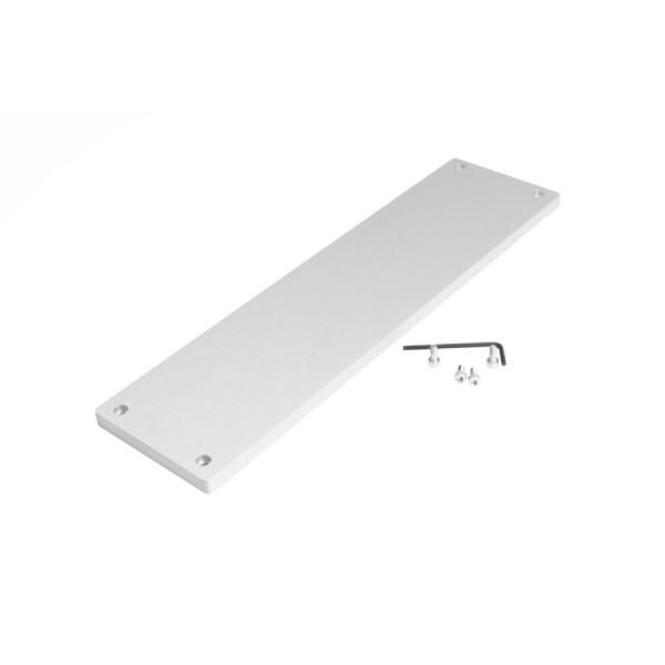 10mm front panel GALAXY MAGGIORATO 383-387-388 SILVER