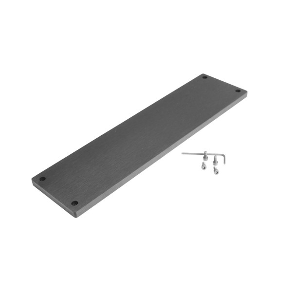 10mm front panel for GALAXY MAGGIORATO 383-387-388 BLACK
