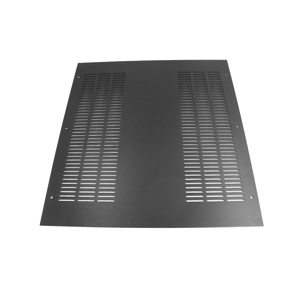 3mm aluminium cover 6 rows of holes for DISSIPANTE 400 series