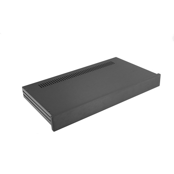 Slim Line 01/230 10mm BLACK front panel - 3mm aluminium covers