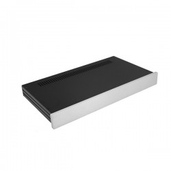 Slim Line 01/230 10mm SILVER front panel - 3mm aluminium covers