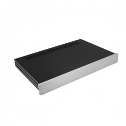 Slim Line 01/280 10mm SILVER front panel - 3mm aluminium covers