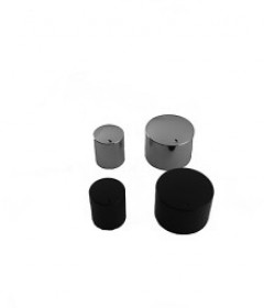 Precision-milled aluminium knobs
